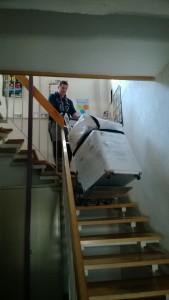 Treppensteiger Einsatz